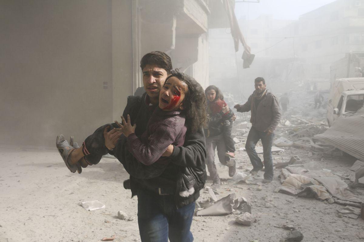 Guera na Siria spliká den 7punto